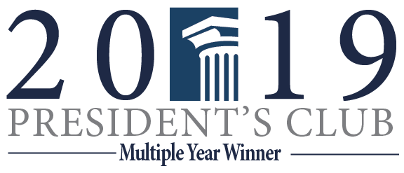President's Club Multiple Year Award Logo