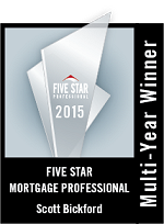 Five Star Mortgage Professional Award