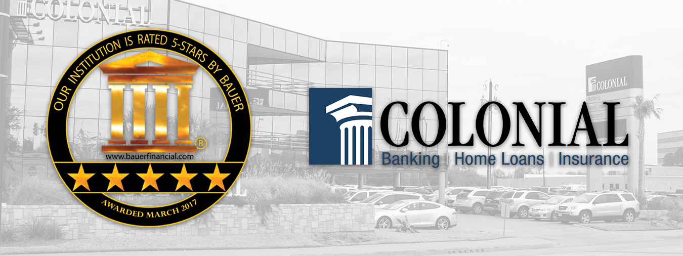 Colonial+Savings+Recognized+as+One+of+the+Strongest+Banks+in+the+Nation+-+Receives+5-Star+Rating+from+BauerFinancial